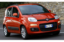 caretta car Fiat - Panda or similar