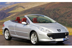 caretta car Peugeot - 307 Cabrio