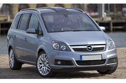 caretta car Opel - Zafira 7 seats