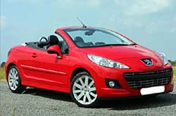 caretta car Peugeot - 207 CC