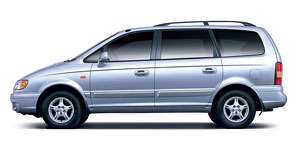 Hyundai - Trajet 7 seats minibus